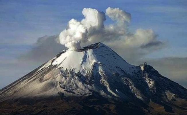 Popocatépetl tuvo 133 exhalaciones — Diario Basta!