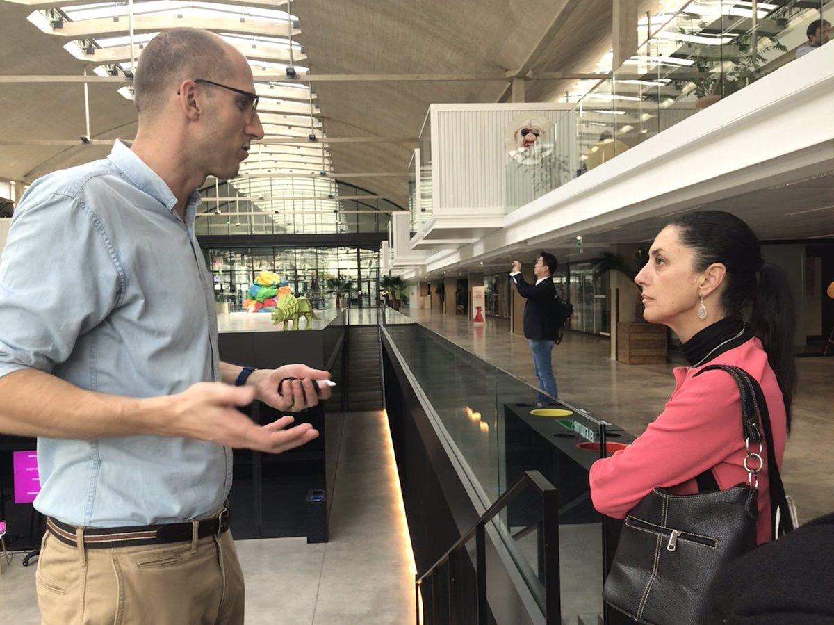 Acuerda Sheinbaum en París cooperación ambiental, cultural y urbano