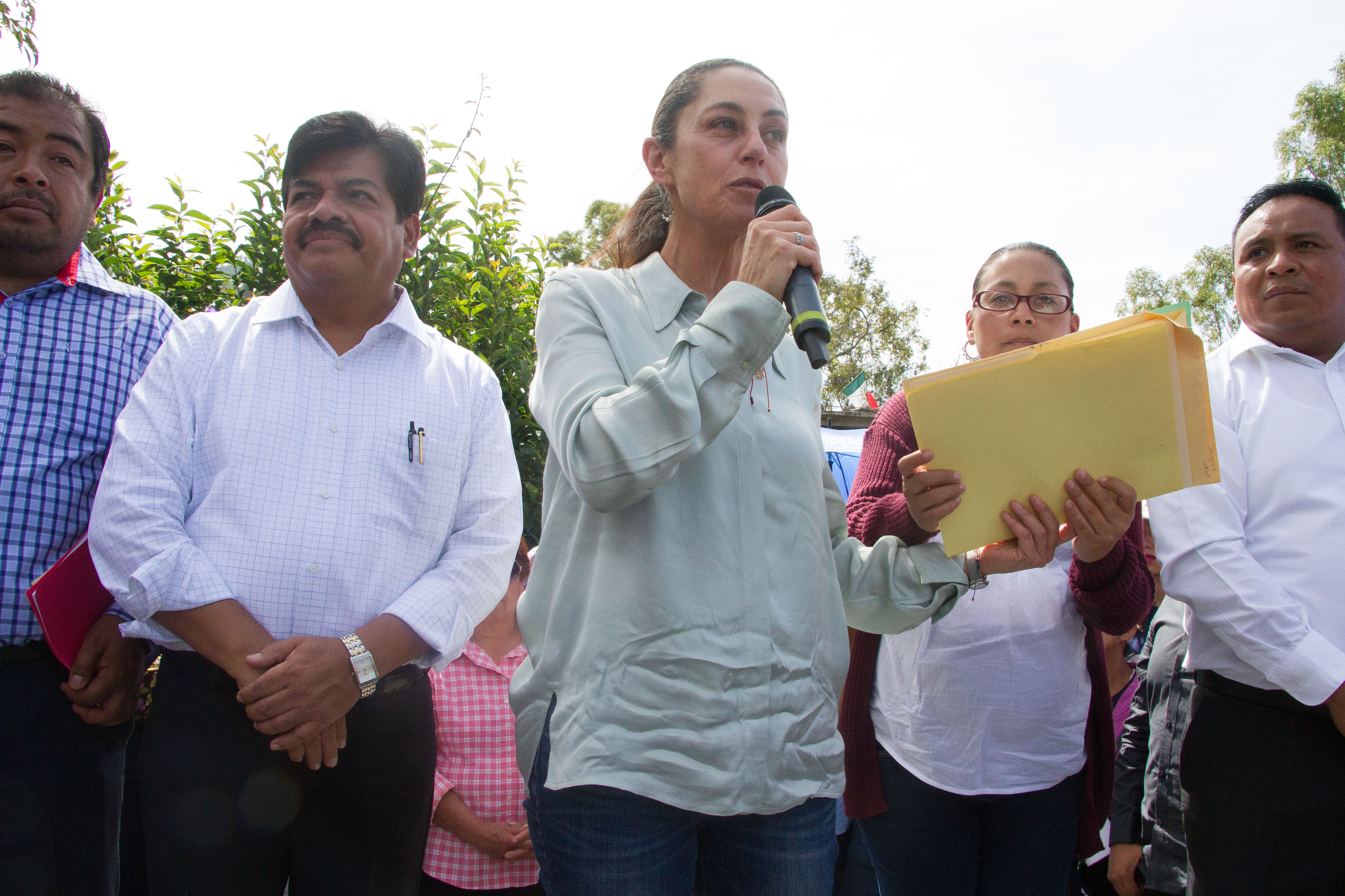 Charla Claudia Sheinbaum con alcaldes de CDMX - Quadratín CDMX