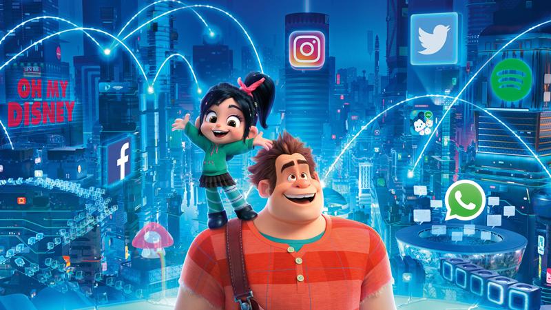 Wifi Ralph, una película infantil que refleja los alcances del Internet