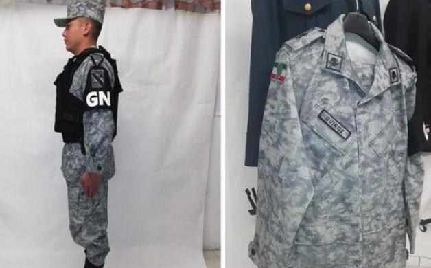 Ciudad de México. Los militares y demás integrantes de la Guardia Nacional  serán identificados con un uniforme gris y pixelado en un tono azul marino. e8c1ba8cd45