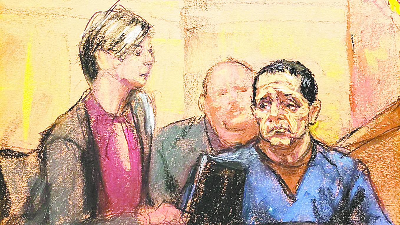 Narran unión de cárteles en juicio de Chapo