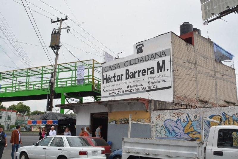 Asaltan Módulo Del Diputado Local Héctor Barrera La Policía