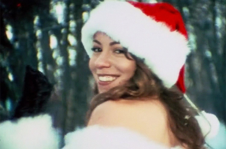 Mariah Carey recibe la navidad con