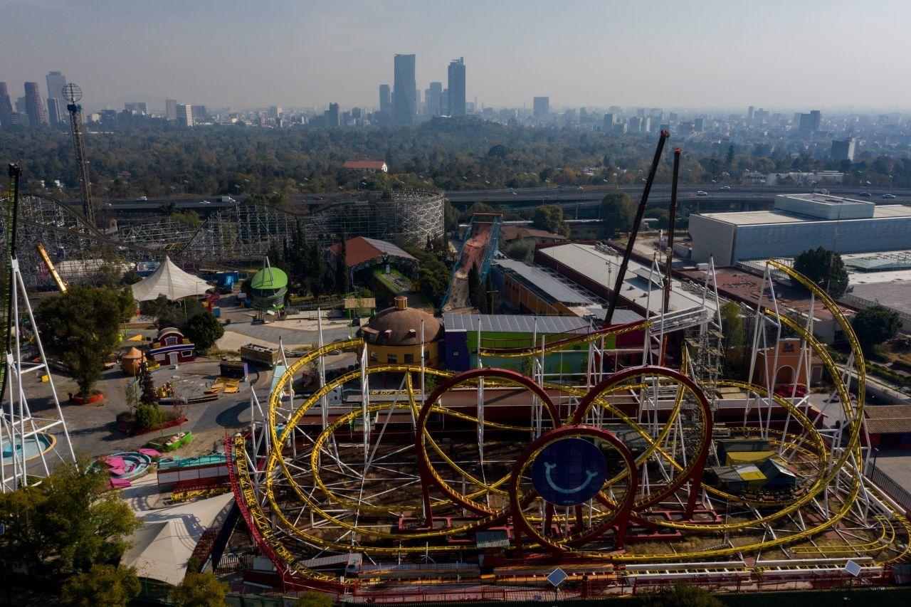 panorámica de la extinta Feria de Chapultepec