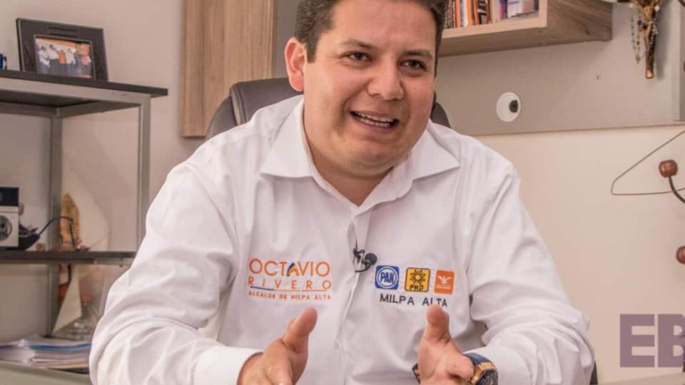 El alcalde, Octavio Rivero Villaseñor, es acusado de agresiones
