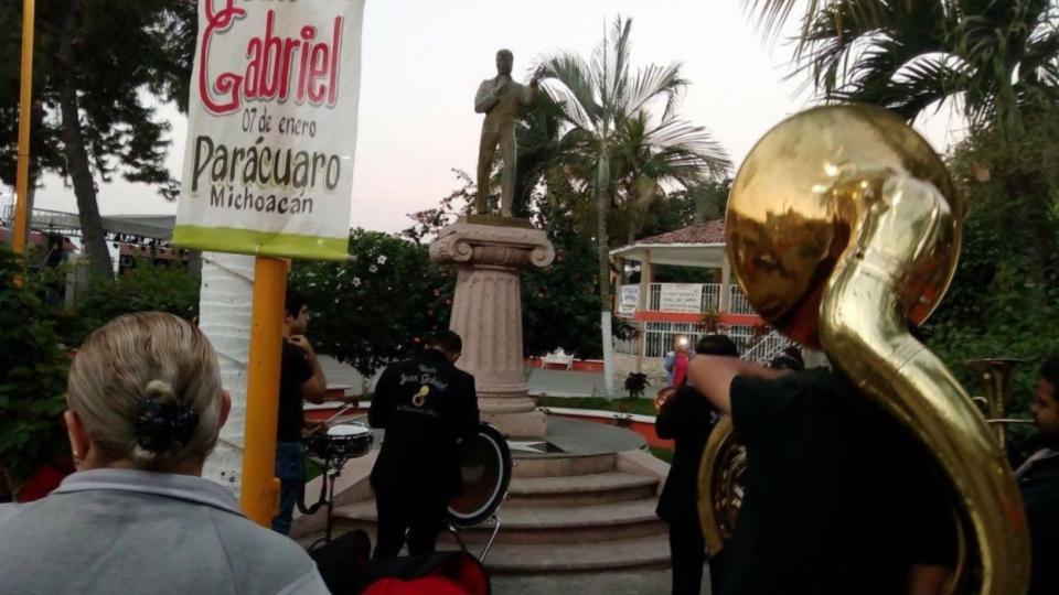 Parácuaro celebra a Juan Gabriel