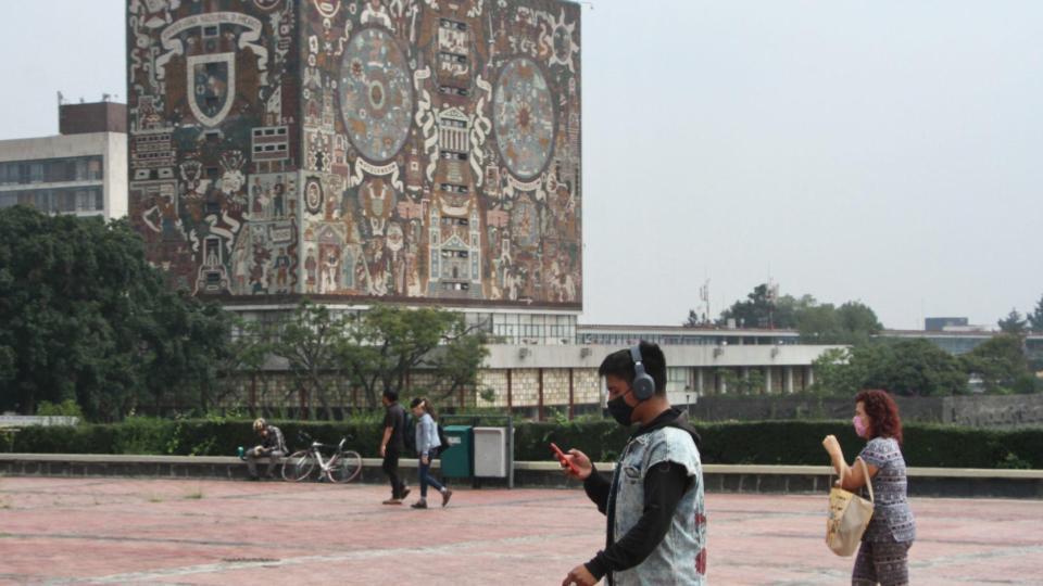UNAM regresa a clases en línea