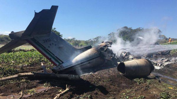 Accidente aéreo Veracruz.
