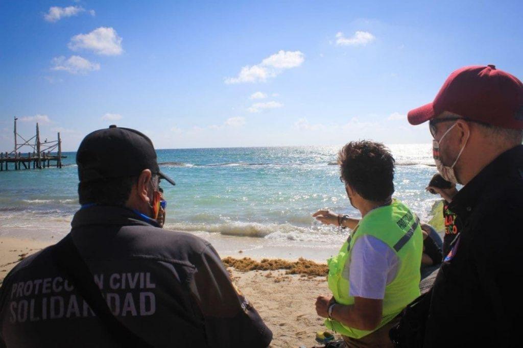 Cierran playa por presencia de tiburones en Quintana Roo