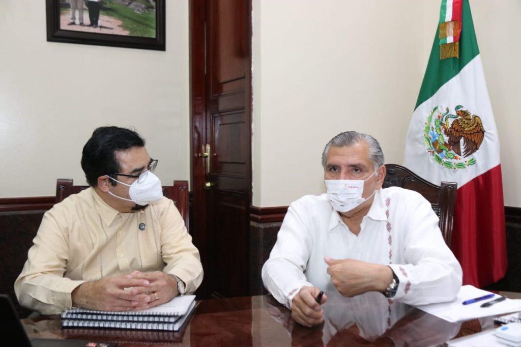 Presenta INEGI al Gobernador resultados del Censo 2020 en Tabasco
