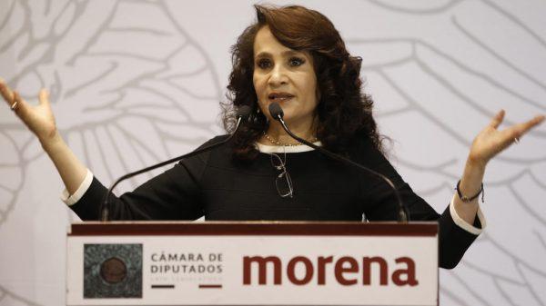 Dolores Padierna candidata en la Cuauhtémoc