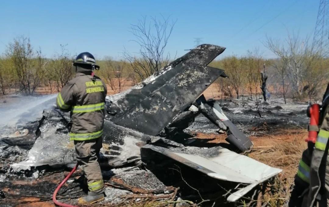 Se desploma avioneta en Sonora