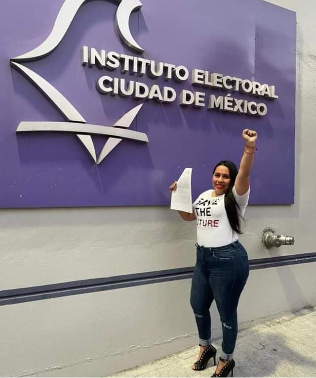 Registra PRD a Fabiola Bautista en Iztacalco