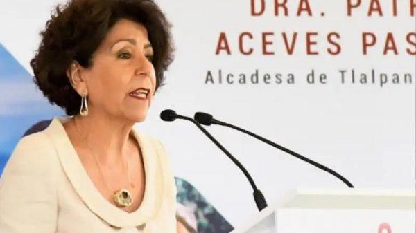 Patricia Aceves pone pretextos por malos resultados en Tlalpan