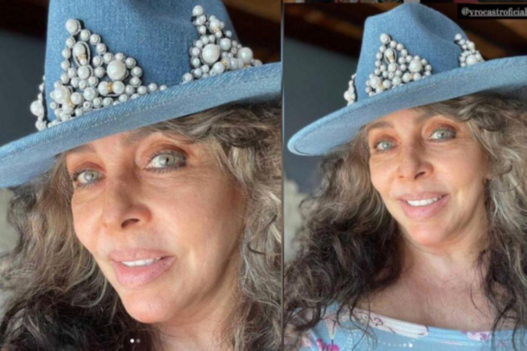 Así se ve Verónica Castro con canas y sin maquillaje