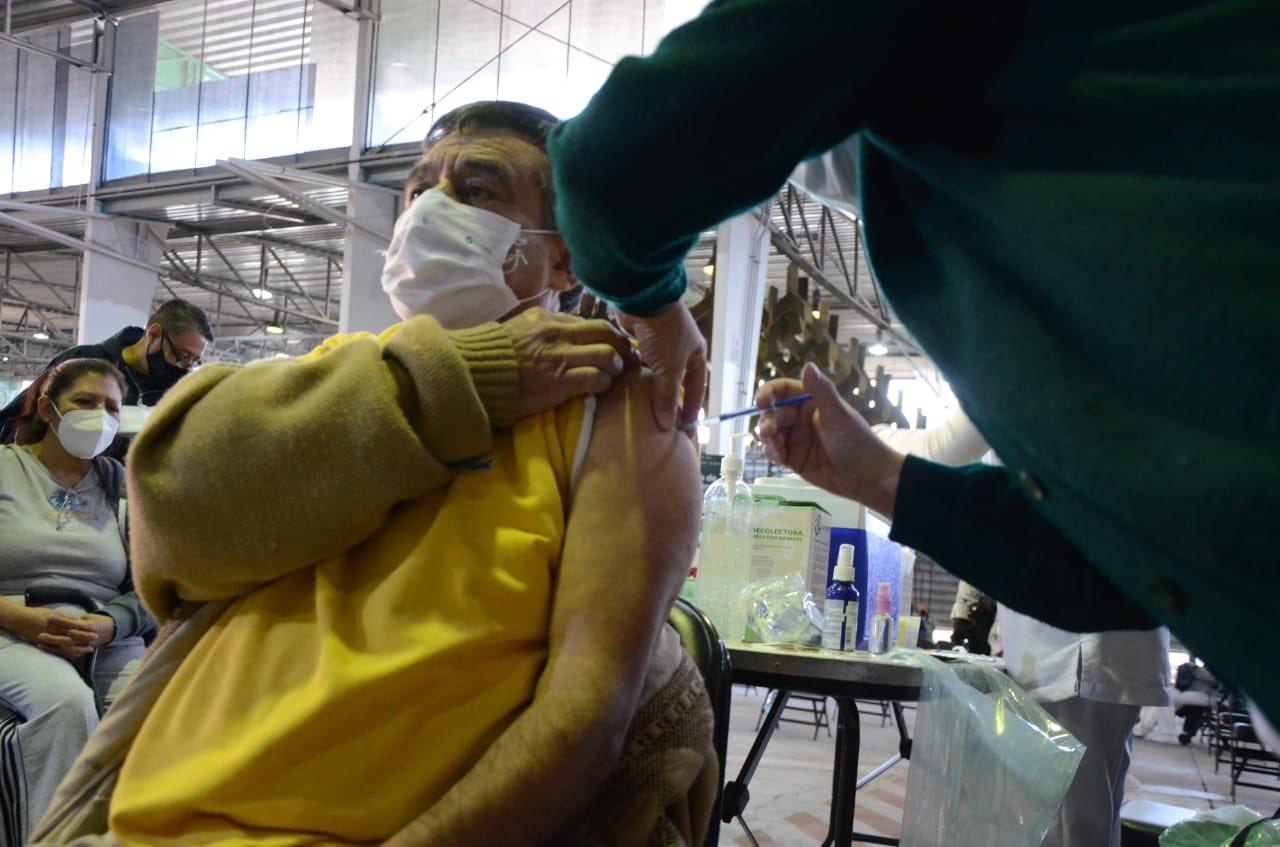 Realizan Simulacro de vacunación en Miguel Hidalgo.