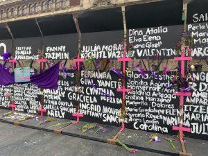 ¿Hasta qué tenemos que llegar para que nos escuchen?. Protestas en el Zócalo de la CDMX. Lizbeth Álvarez