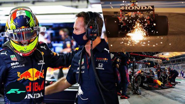 Checo Pérez repara su auto a la mexicana; lo nombran piloto del día