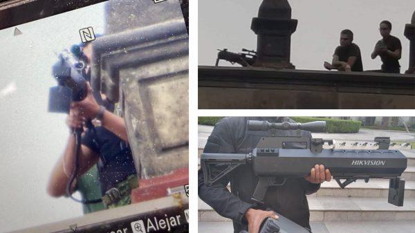 No eran francotiradores, sino antidrones; no había hombres armados en techo de PalacioNacional