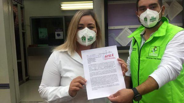 Presentan pruebas de despensas para comprar votos en Iztacalco