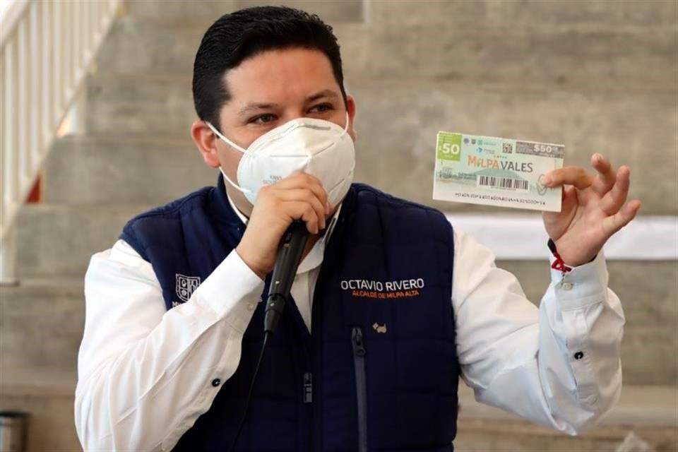 Solapan en Milpa Alta escándalos de Octavio Rivero