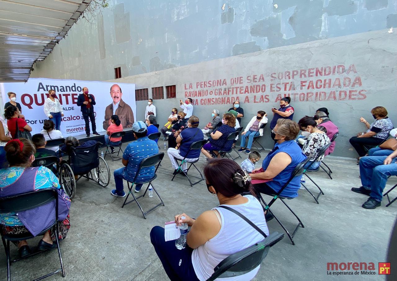 Guerra de declaraciones entre candidatos en Iztacalco