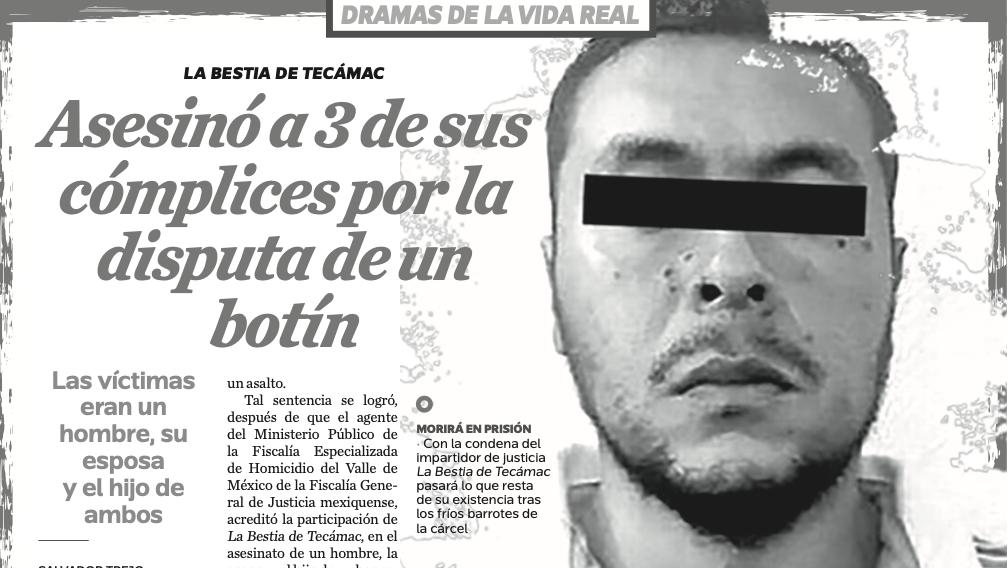 Dramas de la vida real: Asesinó a 3 de sus cómplices por la disputa de un botín