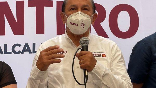 Recicla Armando Quintero propuestas de seguridad en Iztacalco