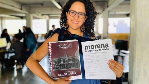 Gabriela Osorio inicia campaña en Tlalpan, bajo sospecha de desaparecer 20 mdp