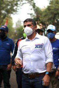 Mauricio Tabe puntea con dinero público en la Miguel Hidalgo