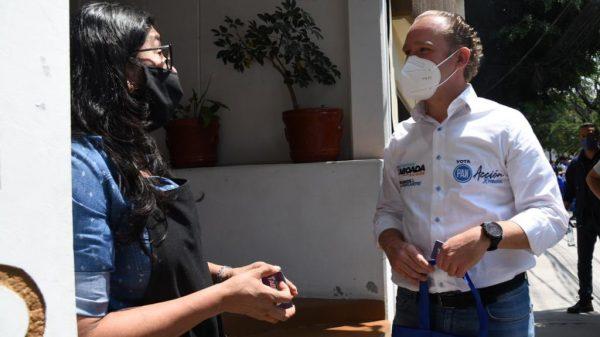 Vecinos de Nativitas piden a Santiago Taboada dejar festejos y ponerse a trabajar