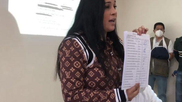 "Hermana de Diana Sánchez Barrios ""hereda"" candidatura"
