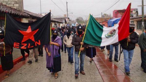Ejército zapatista viaja a Europa para defender sus derechos de justicia social