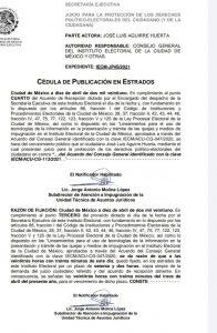 Denuncias frenarían candidatura de Octavio Rivero