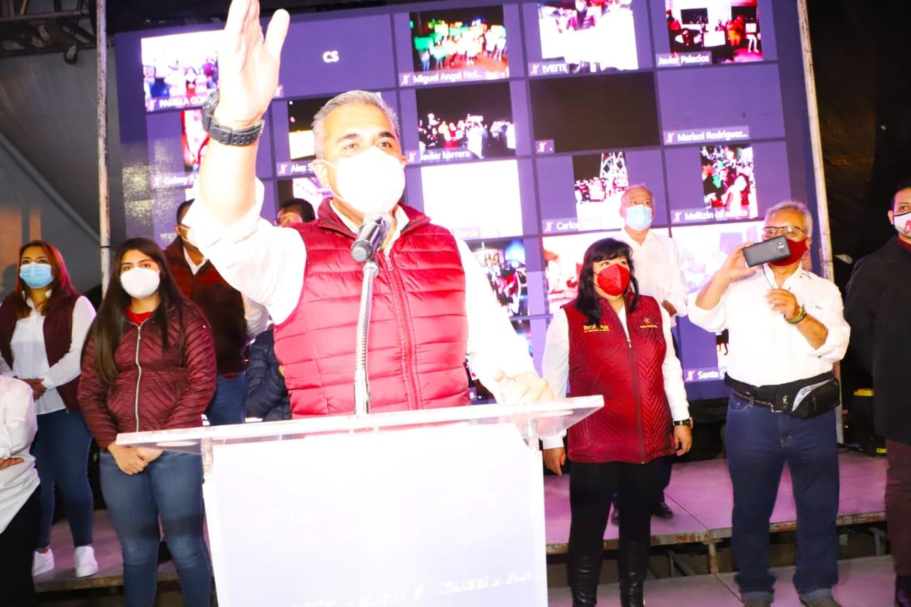 Fernando Vilchis inicia campaña por Ecatepec