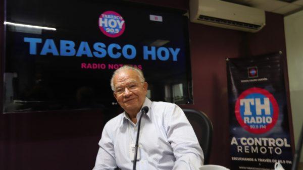 """""""Puedo ganar porque la gente me identifica"""": Andrés Granier en Tabasco Hoy Radio"""
