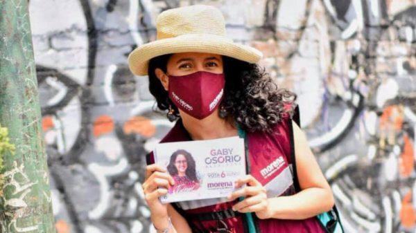 Abusivo el dispendio de propaganda de Gabriela Osorio en Tlalpan