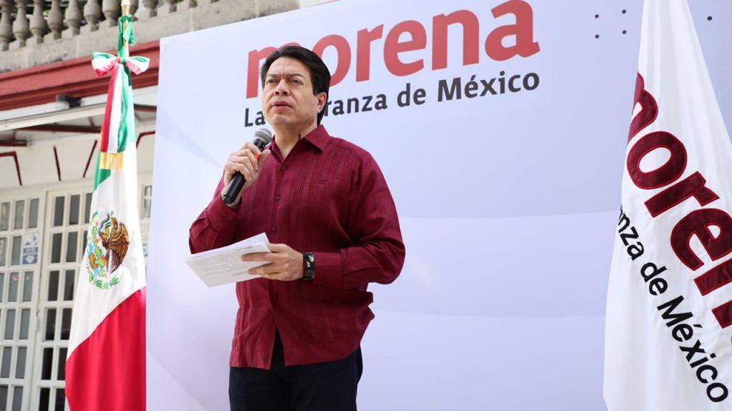 La oposición quiere amañar las elecciones: Mario Delgado
