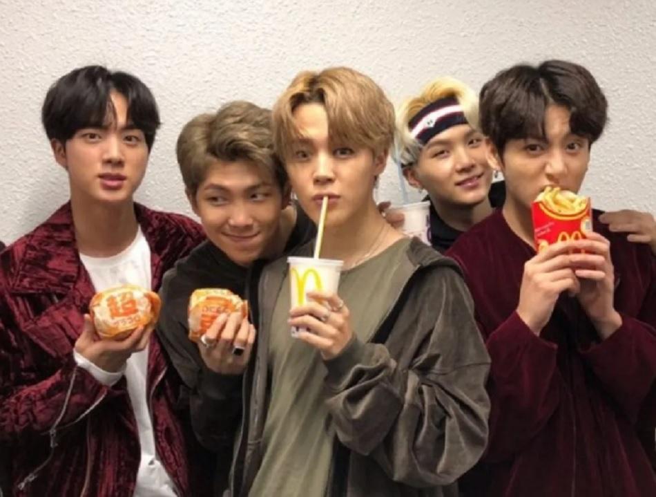 McDonald's lanza menú en colaboración con BTS