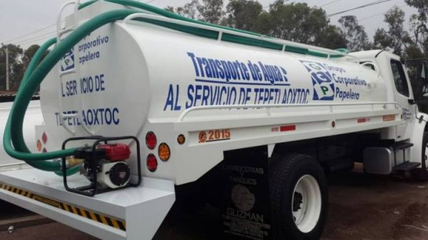 Pipas de agua en Tlalpan se cobran en 800 pesos o más