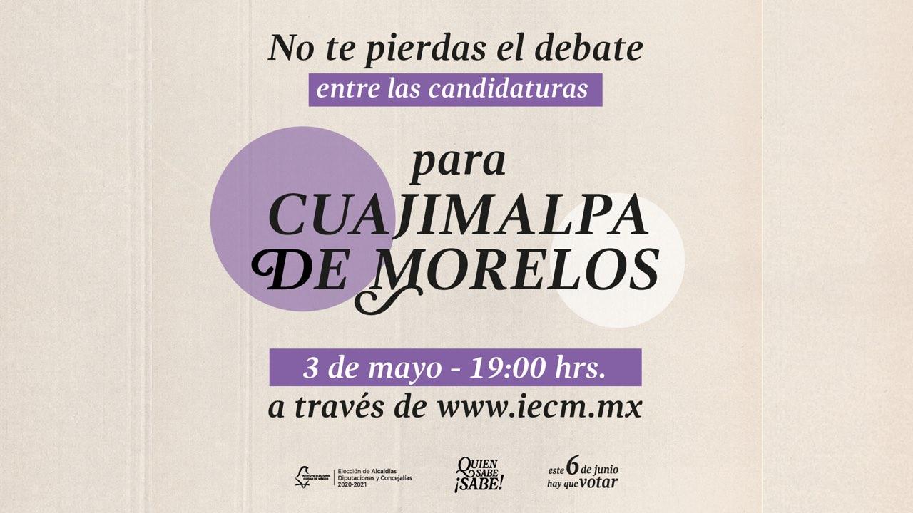 #DebateChilango: Sigue en directo el debate a la alcaldía Cuajimalpa