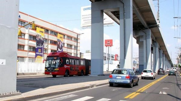 Primer día del Metrobús en Tláhuac