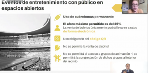 Semáforo amarillo abre la puerta a eventos deportivos