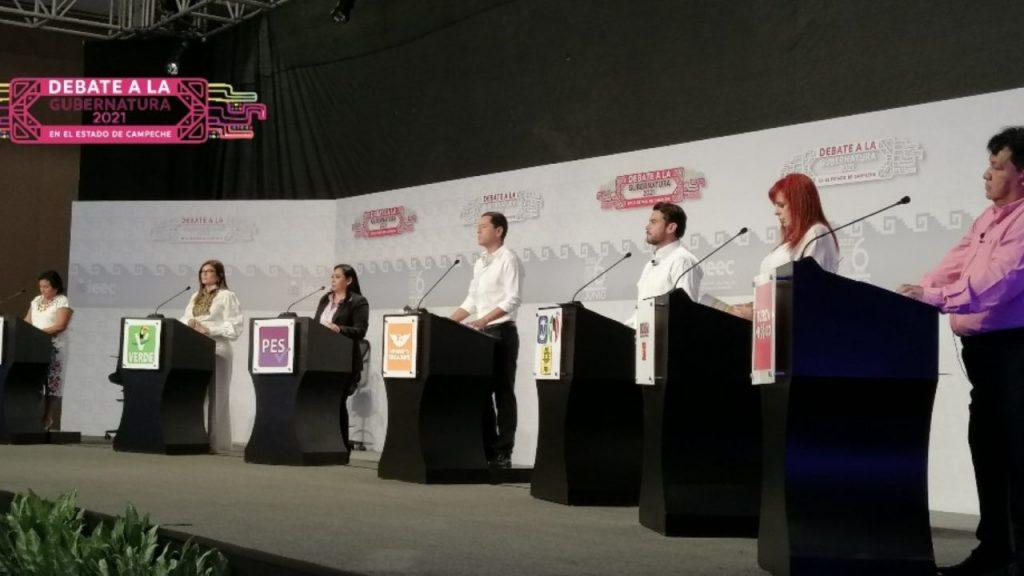 Así fue el debate de los candidatos a la gubernatura de Campeche