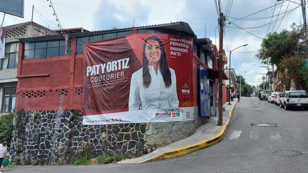 Patricia Ortiz gastó 158 mil pesos en propaganda