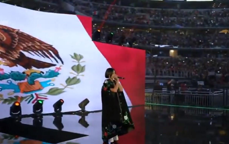 ¿Qué pasó con Ángela Aguilar y su interpretación del Himno Nacional Mexicano?