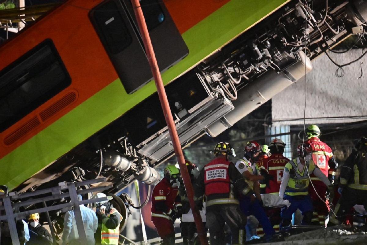 Suman 23 muertos por accidente en Metro de la CDMX