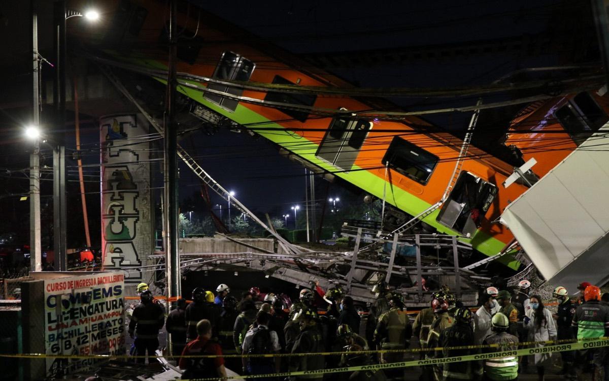 Miedo colectivo tras colapso del Metro