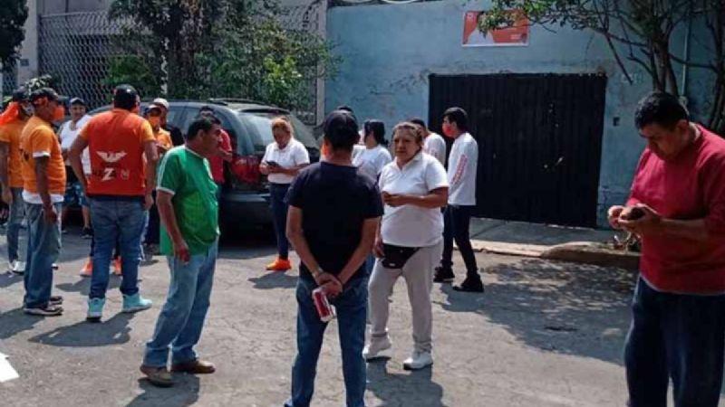 Brigadista de Morena aborta tras ser golpeada por equipo de MC